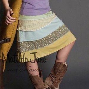 Matilda Jane Finn skirt size medium